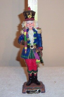 "Galleria Luchesse Roman 10"" Resin Germany Nutcracker Figurine 1994"