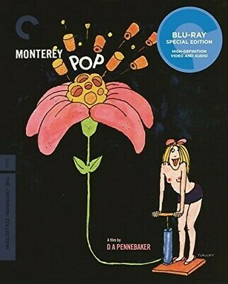 CRITERION COLLECTION: Monterey Pop [New Blu-ray] Full Frame, 2 Pack, Ac-3/Dolb