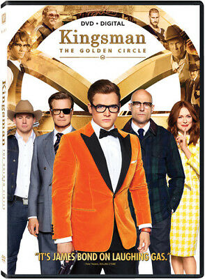 Kingsman: The Golden Circle [New DVD] Ac-3/Dolby Digital, Dolby, Subtitled, Wi