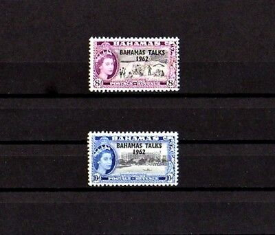 Bahamas - 1963 - Qe Ii - Bahamas Talks - Beach - Hotel - 2 X Mlh Set!