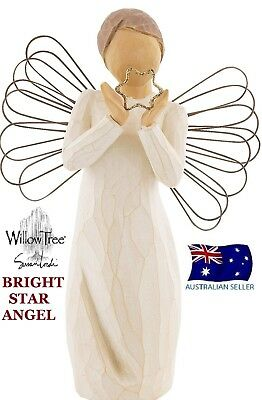 Willow Tree BRIGHT STAR ANGEL Figurine By Susan Lordi By Demdaco NEW IN BOX