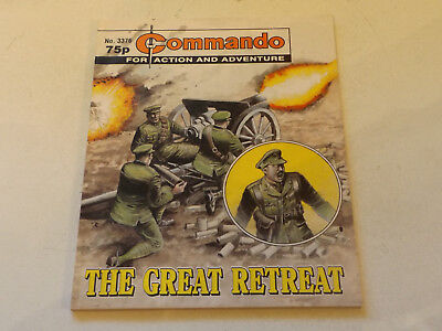 Commando War Comic Number 3376!,2000 Issue,v Good For Age,17 Years Old,very Rare