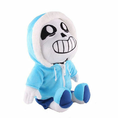 "New Undertale Sans Plush Doll Stuffed Figure Toy Kids Gifts 8"" Hot"