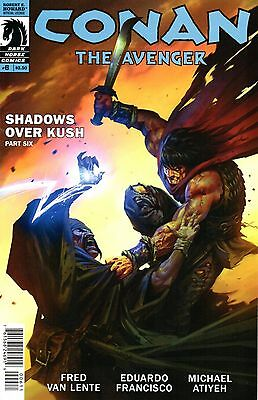 Conan The Avenger Comic 6 Dark Horse 2014 Shadows Over Kush 6 VanLente Francisco