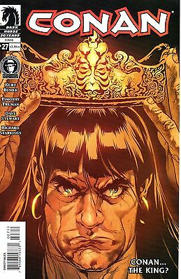 Conan Comic 27 Dark Horse 2006 Busiek NordTrumanStewart The Blood-Stained Crown