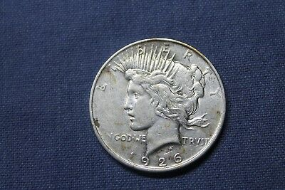 "USA 1 Dollar 1926 "" PEACE DOLLAR "" 0.900 SILBER Silver original RAR 8*!!!"