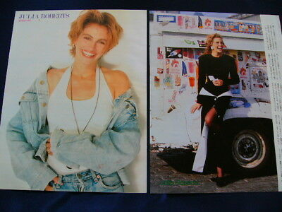 1990s Julia Roberts Japan 70 Clippings &  Poster SET PRETTY WOMAN VERY RARE