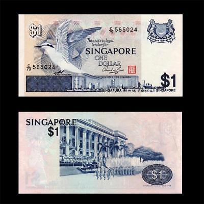 """1976 Singapore """"red Seal"""", $1 - » Best Note «"""