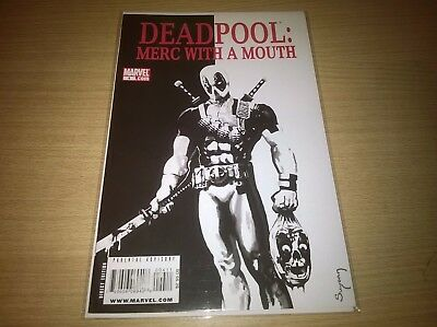 Marvel Comics Deadpool Merc With A Mouth #4 Scarface Homage Cover