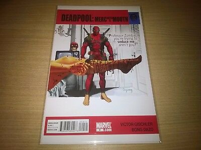 Marvel Comics Deadpool Merc With A Mouth #9 The Graduate Homage Cover