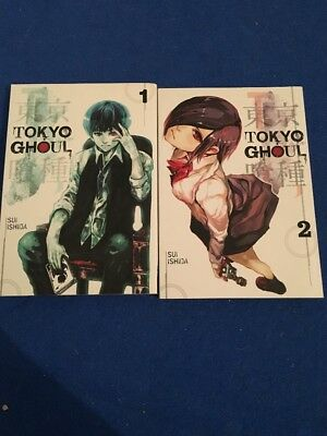 Tokyo Ghoul Collection Volume 1 2  Books Set by Sui I shiva *VGC*