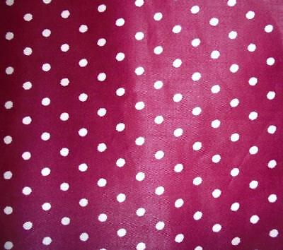 BEAUTIFUL ANTIQUE FRENCH c1910 SMALL POLKA DOT PROVENCAL SAMPLE, PROJECTS REF