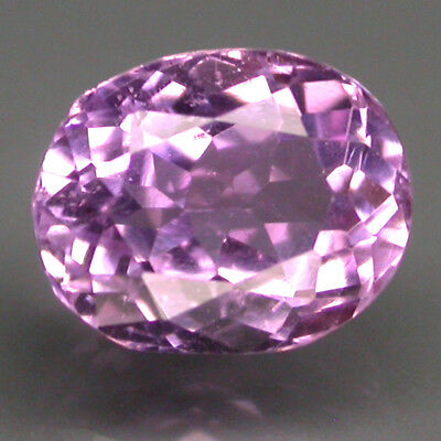 Wonderful 3.35 Ct 9.5x7.5 Mm Oval 100% Natural Top Purplish Pink Kunzite Brazil