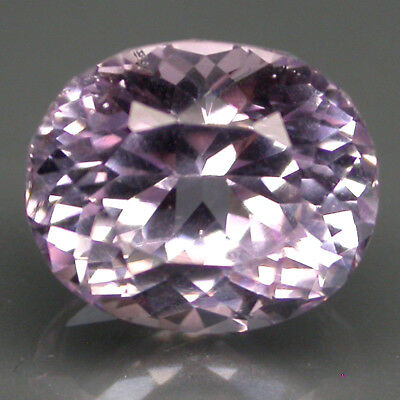 Wonderful 6.70ct 11.5x10mm Oval Cut 100%natural Top Purplish Pink Kunzite Brazil