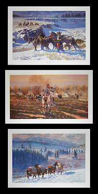 GARY CARTER Western Art Prints - Buy 2 - Get A Third Free - Signed & Numbered