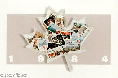 1984 Complete Year / Canadian Mint Not Hinged postage stamps FV $15.23