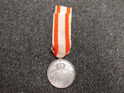 Wwi Imperial German Prussian Honor Medal W/ribbon-Scarce