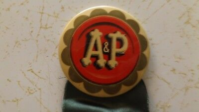 Vintage A & P Employee Merit Grocery Store Award