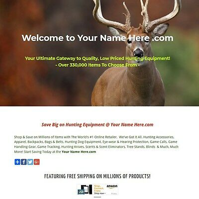 Hunting Business For Sale - Game Calls, Decoys, Clothing, Scents, Knives & More.