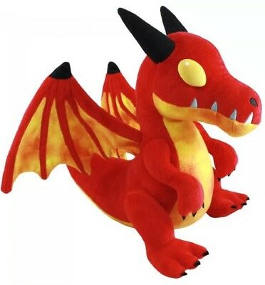 World of Warcraft Red Dragon Baby Cute Plush Doll WOW Horde Blizzard Toy