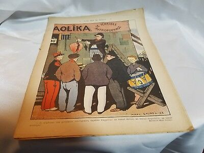 EARLY 1900s FRENCH BOOKLET ADVERTISING & ART ~MARC SAUREL~