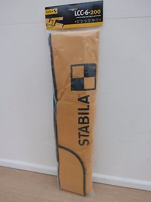 Stabila  Multi Storage Carrying Case Bag For Up To 6 Spirit Levels Lcc 6 200