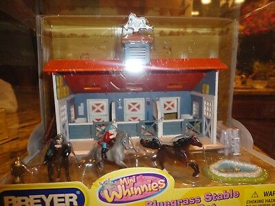 New Boxed Breyer 2009 Mini Whinnies Bluegrass Stable Play Set 300120 Play Mat