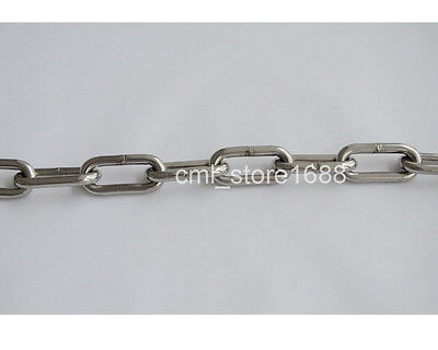 1.2mm 304Stainless Steel Long Link Chain (1M)