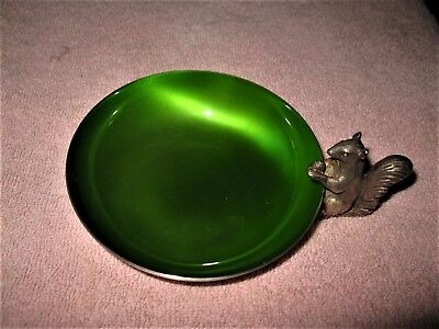 Vintage Reed and Barton Silverplate Squirrel Nut Dish