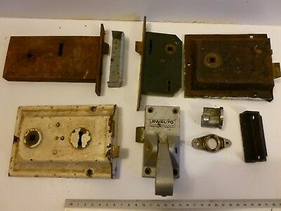 joblot vintage and contemporary mortice door locks pictured YALE 3 lever SWELL70