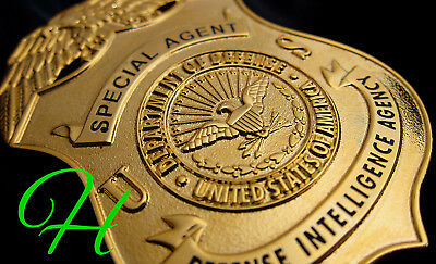 j3/ Historisches police badge + Defense Intelligence Agency, Special Agent  DIA