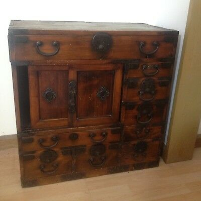Antique Tansu Chest