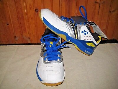Yonex Unisex Badminton Shoes Power Cushion 83 Blue & Yellow NWT