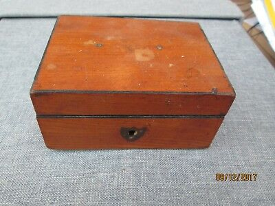 Small Vintage Satinwood Box