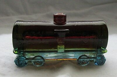 "Boyd Glass Special Tank Car ""rubina"" B With One Line"