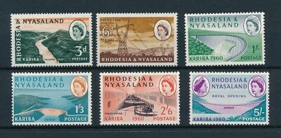 [83993] Rhodesia & Nyasaland good set Very Fine MNH stamps
