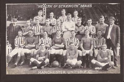 """Football. Manchester United. """"Health & Strength"""" Series."""