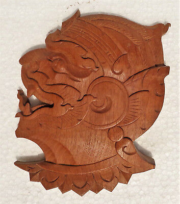 Fine Indonesian carved wood mask