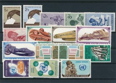 [85501] Papua & New Guinea good lot Very Fine MNH stamps