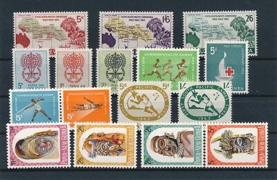 [85502] Papua & New Guinea good lot Very Fine MNH stamps