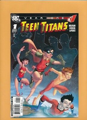 Teen Titans 1-6 ( minus # 4) NM (2008)