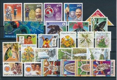 [G85136] Papua New Guinea good lot Very Fine MNH stamps