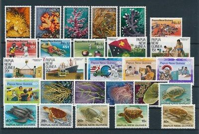 [G85139] Papua New Guinea good lot Very Fine MNH stamps