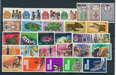 [G85143] Papua New Guinea good lot Very Fine MNH stamps