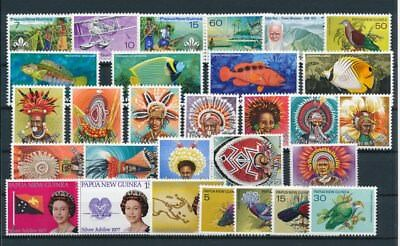 [G85144] Papua New Guinea good lot Very Fine MNH stamps