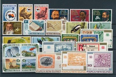[G85147] Papua New Guinea good lot Very Fine MNH stamps