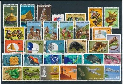 [G85148] Papua New Guinea good lot Very Fine MNH stamps