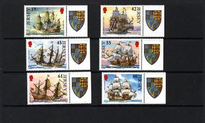 (X693) Jersey 2009 Naval Connections  III MNH SET OF 6