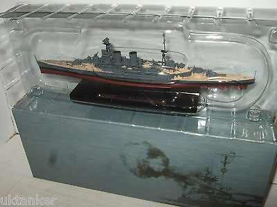 Atlas Editions New Battleship HMS Hood ( 51) in 1:1250 Scale.