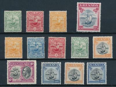 [33624] Grenada Good lot Very Fine MH stamps